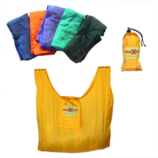 Wholesale 6-pack reusable folding shopping bags